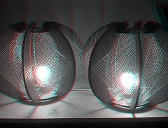 String lamps in 3D