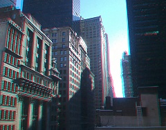 Broadway canyon in 3D