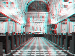 3D: St. Louis Cathedral, New Orleans