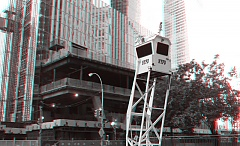 Occupy Wall Street 3D: NYPD observation tower