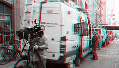 Occupy Wall Street 3D: CNN cameraman
