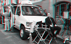 Occupy Wall Street 3D: Waiting for his closeup