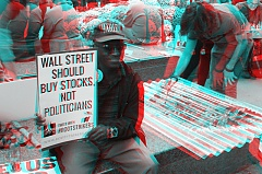 Occupy Wall Street 3D: Buy Stocks, Not Politicians