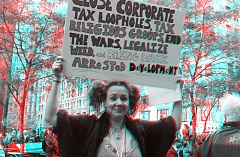 Occupy Wall Street 3D: Bring Back Arrested Development