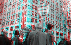 Occupy Wall Street 3D: Unions Yes, War No