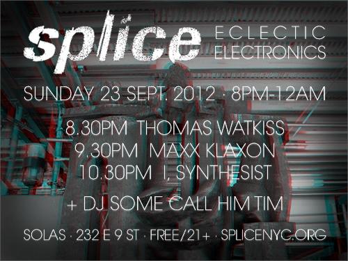 SPLICE 9/23/2012